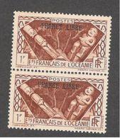 FRENCH OCEANIA...1941:Yvert 144mnh** Pair - Oceania (1892-1958)