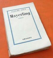 Claude Anet   Mayerling 247 Pages Editions Grasset - Libros, Revistas, Cómics