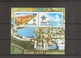 Exposition De Séville -1992 ( BF 40 XXX -MNH- Du Chili) - 1992 – Séville (Espagne)