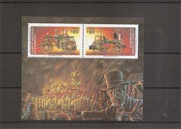 Pompiers - Voitures De Pompiers ( BF 44 XXX -MNH- Du Chili) - Firemen