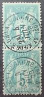 R1286/92 - SAGE TYPE II N°75 - SUPERBES CàD De SAINT ANDRE DE VALBORGNE (Gard) Du 4 JUIN 1878 - BON CENTRAGE - 1876-1898 Sage (Type II)