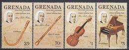 GRENADA 1403-1406,unused,music - Grenada (1974-...)
