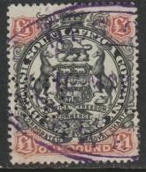 Rhodesia Sc 57 Used Revenue Cancel Perfin - Northern Rhodesia (...-1963)