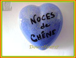 Clamecy ... Coeur Bleu écrit Noir ... Noces De Chêne .. Ref : Avant 1993 - Oude