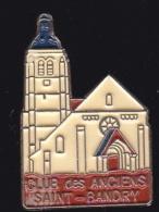 65831- Pin's-Saint-Bandry .Aisne, En Région Hauts-de-France.club Des Anciens.signé PBDM. - Steden