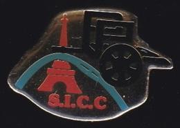 65845- Pin's-société SICC .sécurité Incendie,Paris.Tour Eiffel. - Steden