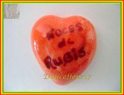 Clamecy ... Coeur Rouge écrit Grenat... Noces De Rubis .. Ref : Avant 1993 - Antiguos
