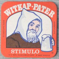 Sous-bock WITKAP PATER Stimulo Ninove (moine) Bierdeckel Bierviltje Coaster (CX) - Portavasos