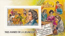 GUINEA Block 197,unused,music - Guinea (1958-...)