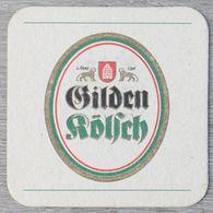 Sous-bock GILDEN KÖLSCH Das Kölsch Der Kölschen Bierdeckel Bierviltje Coaster (CX) - Portavasos