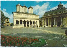 Romania - Bucharest - The Patriarchal Church - Stamp Motive Transport - Rumänien