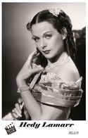 HEDY LAMARR (PB19) - Film Star Pin Up PHOTO POSTCARD - Pandora Box Edition Year 2007 - Femmes Célèbres