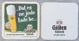 Sous-bock GILDEN KÖLSCH Dat Es Ne Jode Lade He Bierdeckel Bierviltje Coaster (CX) - Portavasos