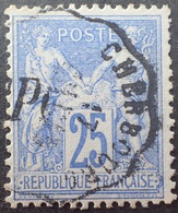 R1286/98 - SAGE TYPE II N°78 - CàD : CONVOYEUR STATION De CHERBOURG - 1876-1898 Sage (Type II)
