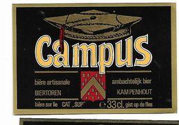 ETIQUETTE BIERE BRASSERIE BIERTOREN / KAMPENHOUT - Cerveza