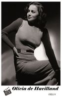 OLIVIA DE HAVILLAND (PB14) - Film Star Pin Up PHOTO POSTCARD - Pandora Box Edition Year 2007 - Femmes Célèbres