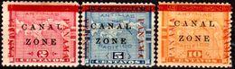 B3-Panama: Canal-Zone-1904 (+) Hinged. - Panamá