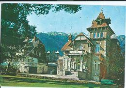Romania - Sinaia - Vila Panseluta - Motive Stamps - Transport,train - Rumänien