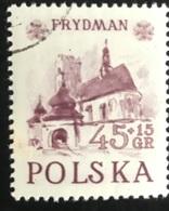 Polska - Poland - Polen - P1/6 - (°)used - 1952 - Historische Gebouwen - Michel Nr. 767 - Eglises Et Cathédrales