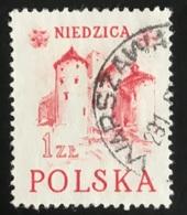 Polska - Poland - Polen - P1/6 - (°)used - 1952 - Historische Gebouwen - Michel Nr. 769 - Châteaux