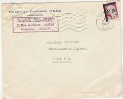 ESC 0,25 Decaris Surchargé E.A Alger 1962 - Algeria (1924-1962)