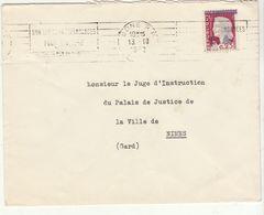 ESC 0,25 Decaris Surchargé E.A  Bone 1962 - Algeria (1924-1962)