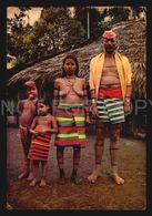 Ecuador Ethnic Nude Natives Tatoo  W6-149 - América