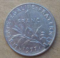 1977  FRANCIA  1 Franco (O. Roty) - Circolata - Francia