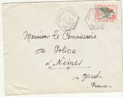 ESC 0,25 O. Cad RAR Horace Vernet Tizi Ourou 1963 - Morocco (1956-...)