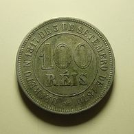 Brazil 100 Reis 1884 - Brasilien