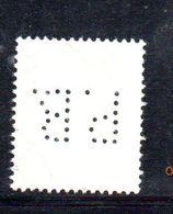 APR2842 - RHEINLAND PFALZ , 10 Pf Usato PERFIN PERFINS PB - Zona Francese