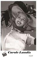 CAROLE LANDIS (PB35) - Film Star Pin Up PHOTO POSTCARD - Pandora Box Edition Year 2007 - Femmes Célèbres