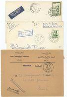 Maroc : 3 Cachets Manuels : OUJDA 1963, AIN ES SEBAA 1964, MEKNES Ppal 1961 - Morocco (1956-...)