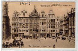 BRUXELLES - La Grand'Place - Stempel - Cachet - Königliche Preussische Radfahrer Komp. Nr 162 - Bruxelles-ville