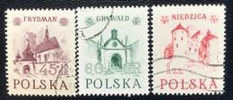 Polska - Poland - Polen - P1/3 - (°)used - 1952 - Historische Gebouwen -  Michel Nr. 767#769 - Used Stamps