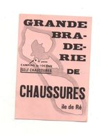 Autocollant Grande Braderie De Chaussures île De Ré Camping De L'océan - Format : 10x7 Cm - Adesivi