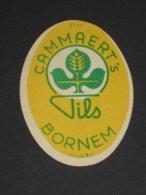 Oud Etiket PILS Brouwerij CAMMAERT Te BORNEM - Cerveza