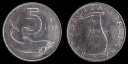 MNR114 - 5 LIRE ITALMA  1955 - REPUBBLICA ITALIANA - 1946-… : Republic