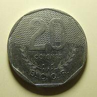 Costa Rica 20 Colones 1994 - Costa Rica
