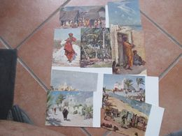Colonie Italiane SOMALIA Ministero Delle Colonie Quadri AJMONE N.9 Cartoline Differenti - Somalia