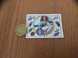 AUTOCOLLANT, Sticker «PANINI - Femme, Plage» - Panini