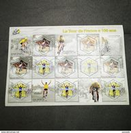 FRANCE Bloc Feuillet LE TOUR DE FRANCE A 100 ANS 2003 ! NEUF ! Collection Timbre Poste - Nuovi