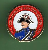 GENDARMERIE *** COMPAGNIE DE BOURGOIN-JALLIEU *** 1001 - Militaria