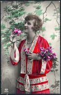 D7971 - Porträt Hübsche Junge Frau - Mode Frisur - Coloriert - Pretty Young Women - Gel Ruppersdorf - Mode