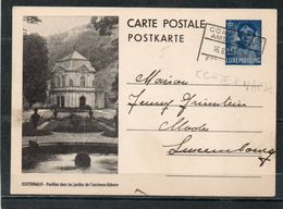 (mec) - Luxembourg Entier Postaux 35c Ecthernach - Interi Postali
