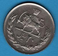IRAN 20 RIALS 1352 1973 KM# 1181 Muhammad Reza Pahlavi - Irán