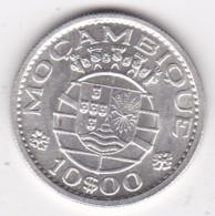 Colonie Portugaise, Mozambique, 10 Escudos 1966 . Argent - Mozambique