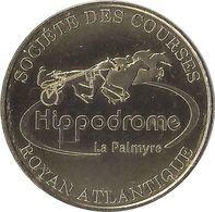 2020 MDP211 - LES MATHES - Société Des Courses  (Royan Atlantique - Hippodrome La Palmyre) MONNAIE DE PARIS - Monnaie De Paris