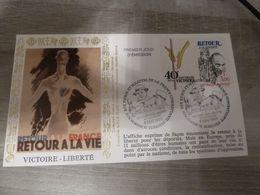 RETOUR A LA VIE - VICTOIRE- LIBERTE - Obj. 'Remember Of'