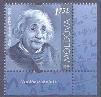 2019. Moldova, A.Einstein, People Who Changed The History Of The World, 1v, Mint/** - Moldavia